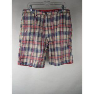 Tailor Vintage Indian Madras Chino Shorts